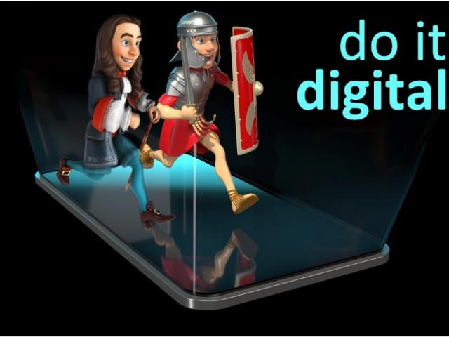 Do it digital